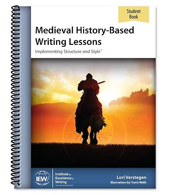 Medieval History-Based Writing Lessons [Student Book only], 2019, 5th Edition