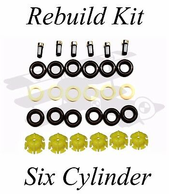 BMW Injector Rebuild Kit -  Six Cylinders (M20, M50, M52, etc.) E30 E36 E34 E39
