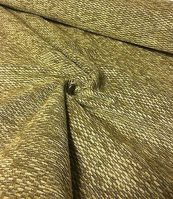 CREAM BEIGE CHENILLE UPHOLSTERY FABRIC 4.5 METRES