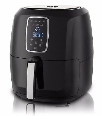 XL Digital Electric Air Fryer with LED Touch Display- 5.2L Capacity -NEW