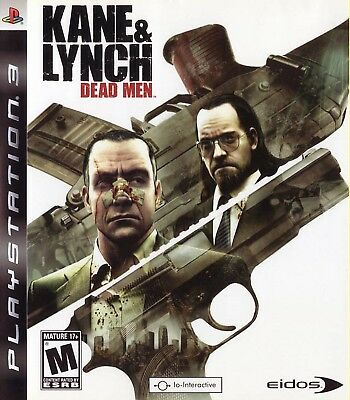 Kane & Lynch: Dead Men PS3, used for sale  Shipping to India