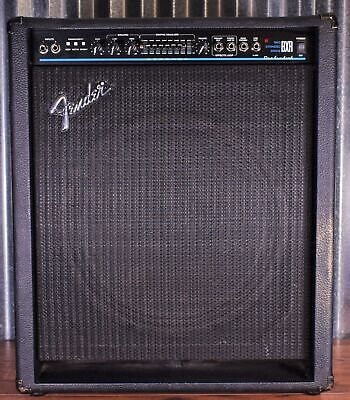 "Fender BXR 100 15"" Extended Range Bass Combo Amplifier Used"