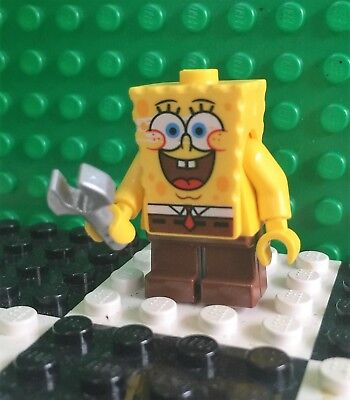 LEGO SPONGEBOB SQUARPANTS I'm ready classic version with wrench NEW