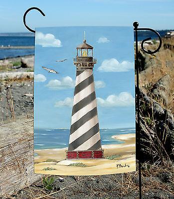 Toland Cape Hatteras Lighthouse 12.5 x 18 Summer Beach Carol