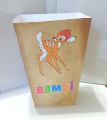 Bambi Popcorn Box. Disneyland Cartoons......free Shipping