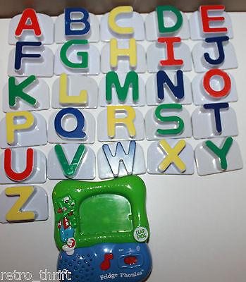 Fridge Phonics Leap Frog LeapFrog Magnetic Large Alphabet Full Complete Set