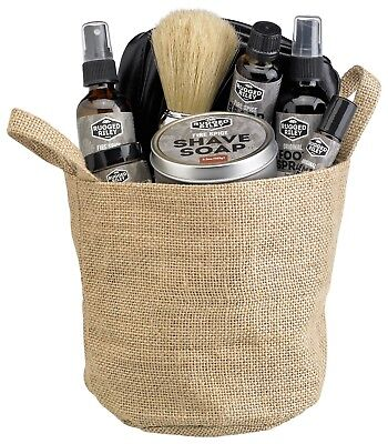 All Natural Gift Basket - Men's All Natural Fire Spice Gift Basket by Fabulous Frannie