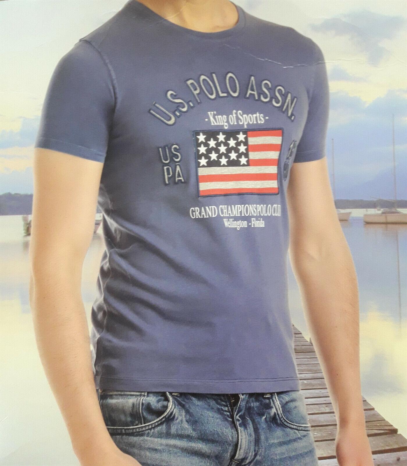 U.S. POLO ASSN. 51717 Herren Kurzarm Rundhals T-Shirt USA M-XXL Farbwahl