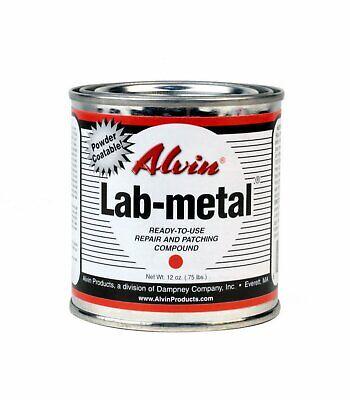 Alvin 12 Oz Lab Metal Durable Economical Dent Filler Patching Compound Epoxy