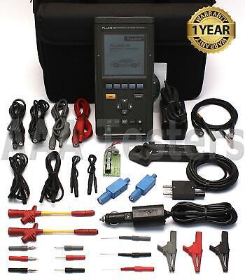 Fluke 98 Series Ii Automotive Scopemeter 300v Handheld Dual Channel Multimeter