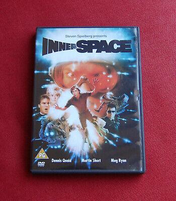 Innerspace - Region 2 DVD - Dennis Quaid, Martin Short, Meg Ryan - Joe Dante