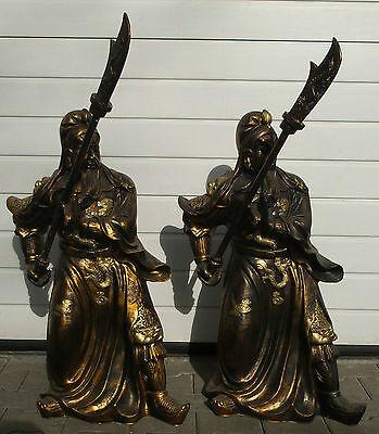 Lebensgross - Skulptur - Samurai - Figuren - Statue -Fengshui - General -Schwert