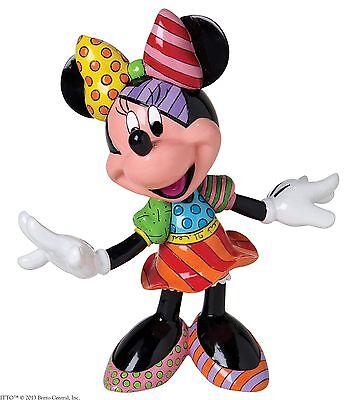 Disney by Romero Britto Minnie Mouse Figurine Ornament Figure 20.5cm 4023846