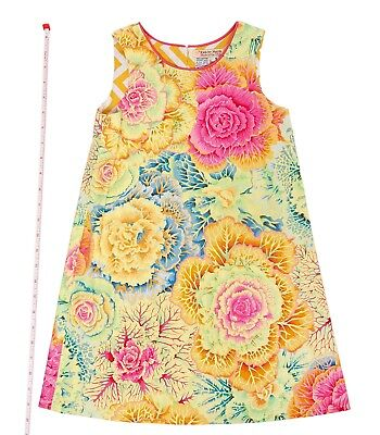 Childrens Designer Boutique (Designer Boutique Style Little Girls Size 5 Colorful & Fun Floral Print  Dress)