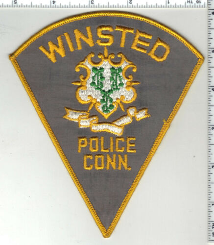 Winsted Police (Connecticut) 1st Issue Shoulder Patch
