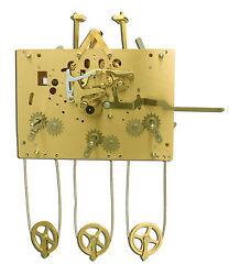 Hermle 1161-853 114cm Grandfather Clock Movement