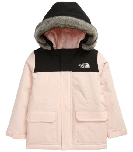 The North Face Toddler McMurdo Waterproof Hooded Down Parka Jacket Pink Size 3T