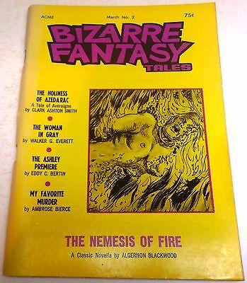 Bizarre Fantasy Tales - US Digest – March 1971 – Vol.1 No.2 - Smith, Blackwood