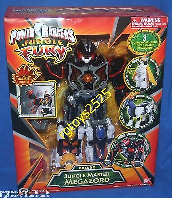 Power rangers jungle fury megazordebay power rangers jungle fury deluxe jungle master megazord new factory sealed voltagebd Image collections