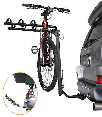 Advantage Sportsrack Tiltaway 4 Bike Rack Suv / Jeep 2 & 1.25 Hitch Mounted