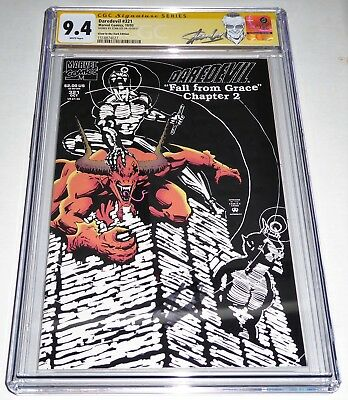 Daredevil #321 CGC SS Signature Autograph STAN LEE Glow in the Dark Edition 9.4