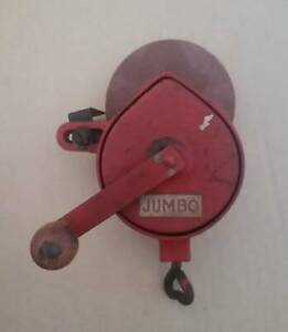 VINTAGE JIMBO RED BENCH CLAMP ON GRINDER GRINDING STONE Merrylands Parramatta Area Preview