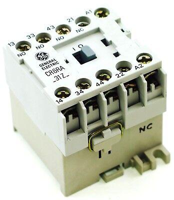 Ge Miniature Din Rail Magnetic Contactor Cr6ra31zj 48v Ac Coil Ca4-9c-01-48d