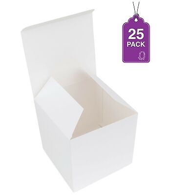 Cupcake Gift - White Paper Gift Boxes 4
