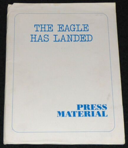 THE EAGLE HAS LANDED 1976 ORIGINAL MOVIE PRESS KIT MICHAEL CAINE WORLD WAR II