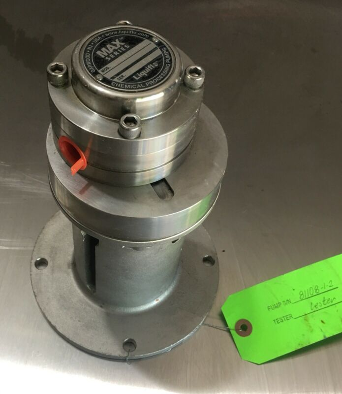 New - Liquiflo M0 Gear Pump All SS