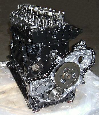 6.7 CUMMINS REMANUFACTURED DIESEL LONG BLOCK ENGINE