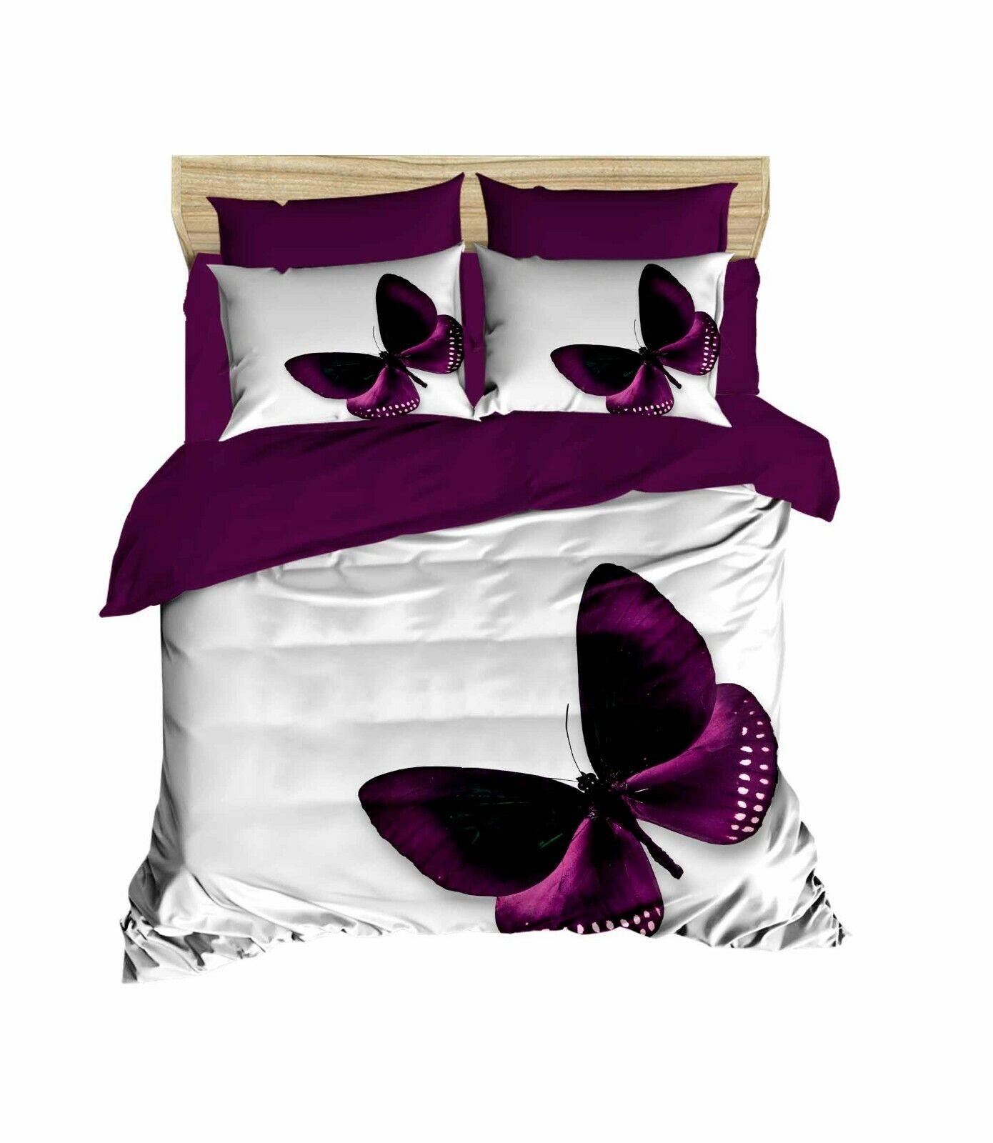 Butterfly Bedding 3D Printed 100% Duvet Cover Set Full/Queen