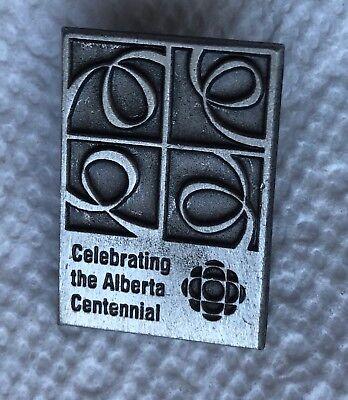 CBC NEWS Celebrating the Alberta Centennial Souvenir PIN ()