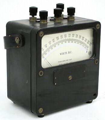 Vintage Weston Electrical Instrument Zero Corrector Volts Dc