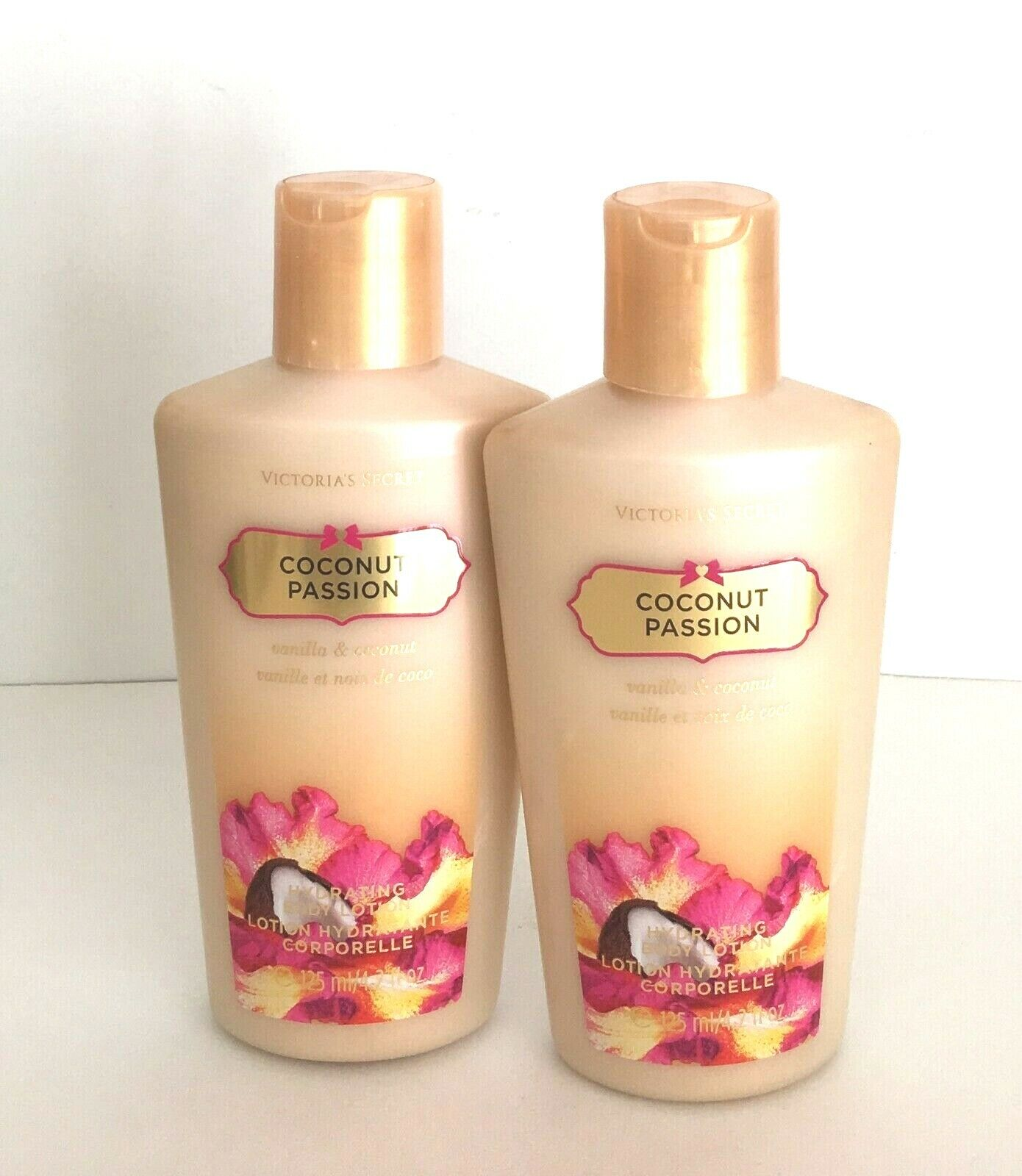 2x Victoria's Secret Coconut Passion Hydrating Body Lotion 4