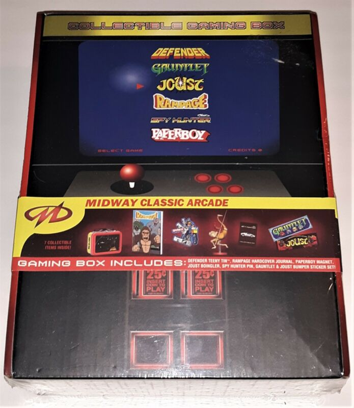 Midway Classic Arcade Gaming Box **NEW**