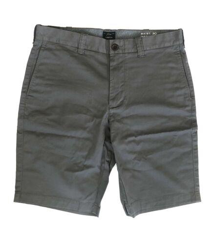 J Crew Men's Shorts Size 30 Inseam 10.5 Gray