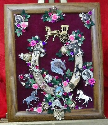 Vintage Jewelry Art Horse Shoe