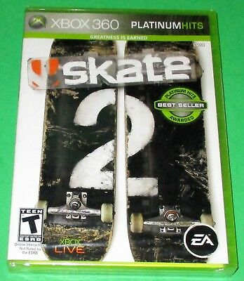Skate 2  Xbox 360 *Brand New! *Factory Sealed! *Free Shipping! ()