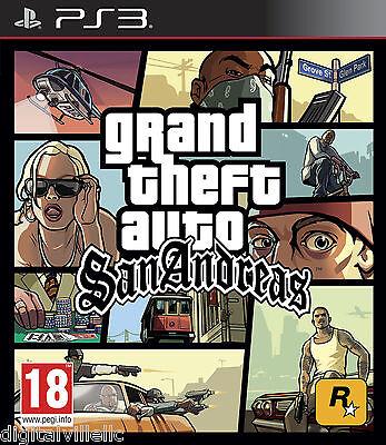 Rockstar Grand Theft Auto San Andreas Sony Playstation 3 ...