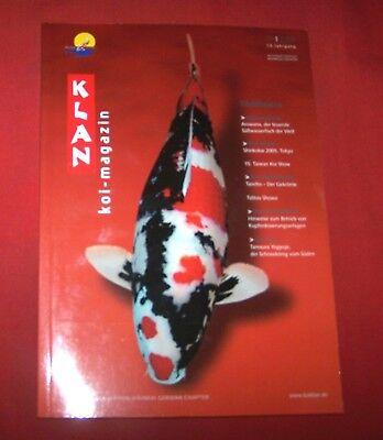 Klan Koi Magazin 2005 Nr  1 , 13. Jahrgang , Internationales Nishikigoi Magazin