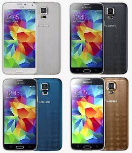 Samsung Galaxy S5 SM-G900V 16gb 4G LTE GSM Smartphone Verizon + GSM Unlocked