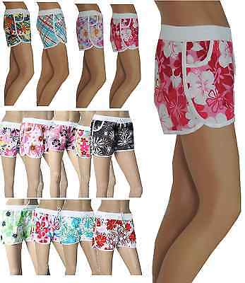 Damen Bade Shorts  Bermuda Shorts Badehosen M -XL
