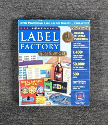 NOVA Art Explosion Millions Professional Labels Minutes Label Factory Deluxe NIB