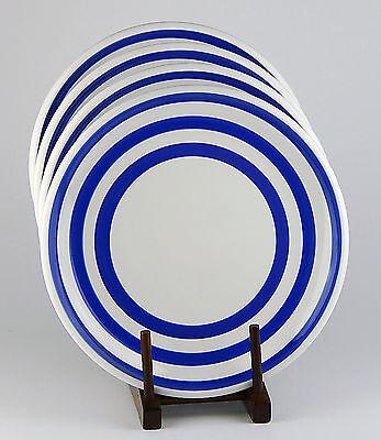 RARE! Set of 2 Dinner Plates, SUPERB! Cabana, Marine Blue, Everyday Collection - Marine Blue Dinner