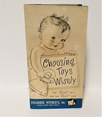 WW II era Vintage Childhood Interests Toy Catalog 31 page Toy Prices New Jersey