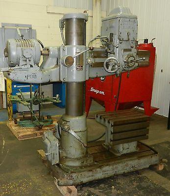 Cincinnati Bickford Radial Arm Drill Mt4 460vac 3 Phase F3 1030isu