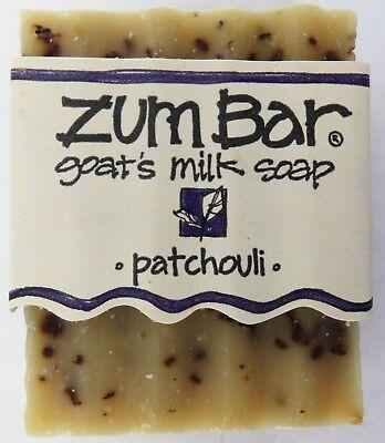 Zum Bar All Natural Goat's Milk Soap Bar Patchouli 3 Ounce By Indigo Wild