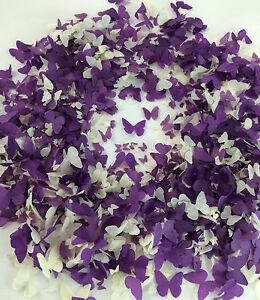 Purple-Ivory-Biodegradable-Confetti-Butterflies-Lavender-Lilac-Dark-Purple
