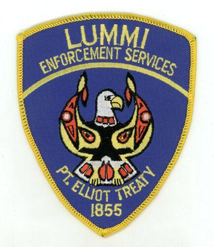 Lummi Tribal Law Enforcement Services Washington Vintage